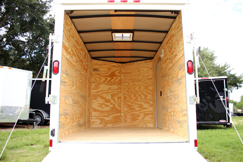 Diamond Cargo 6x10 Single Axle - Ramp Door