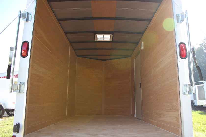 Diamond Cargo 6x12 Single Axle - Ramp Door