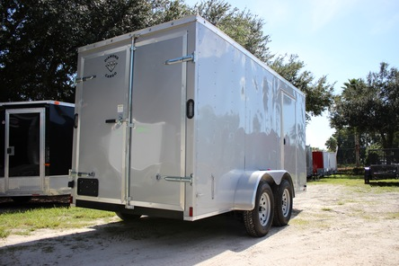Diamond Cargo 6x14 Tandem Axle - Barn Doors