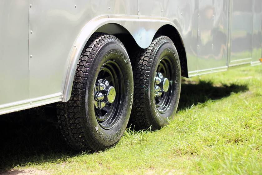 Diamond Cargo 8.5x20 Tandem Axle - Heavy Duty & Bullnose Front End