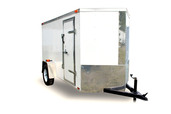 Diamond Cargo 5x10 Single Axle - Ramp Door & Side Door