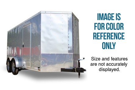 Diamond Cargo 5x10 Single Axle - Barn Doors