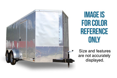 Diamond Cargo 8x16 Tandem Axle - Barn Doors