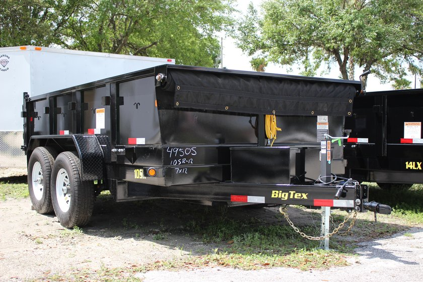 Big Tex 7' x 12' Dump Trailer