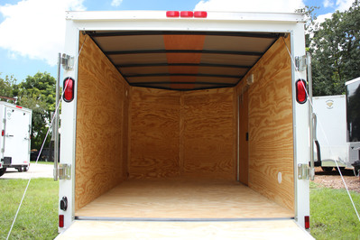 Diamond Cargo 6x10 Single Axle - Ramp Door & 80