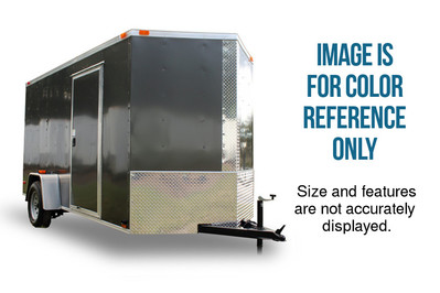 Diamond Cargo 5x8 Single Axle - Barn Doors & Side Door