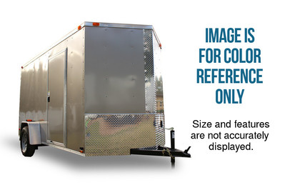 Diamond Cargo 6x10 Tandem Axle - Barn Doors
