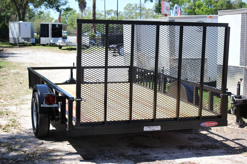 "AMP 82""x12' Single Axle Utility"