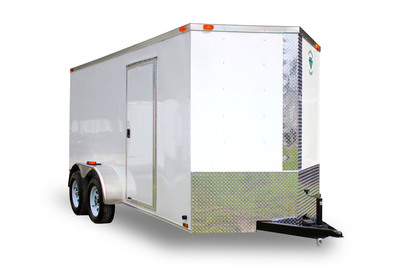 Diamond Cargo 6x14 Tandem Axle - Ramp Door