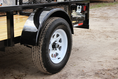 AMP 5'x10' Single Axle Utility