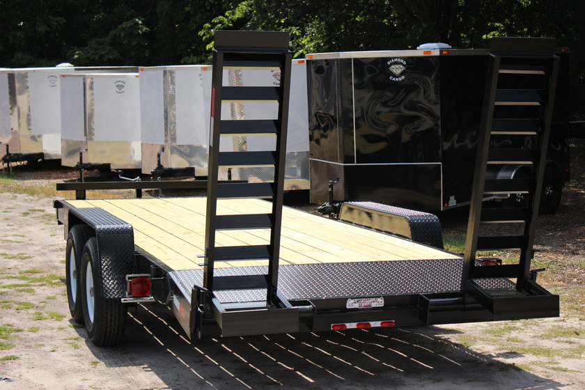 "AMP 82""x20' Equipment Hauler - Heavy Duty"