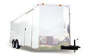 Diamond Cargo 8x18 Tandem Axle - Ramp Door