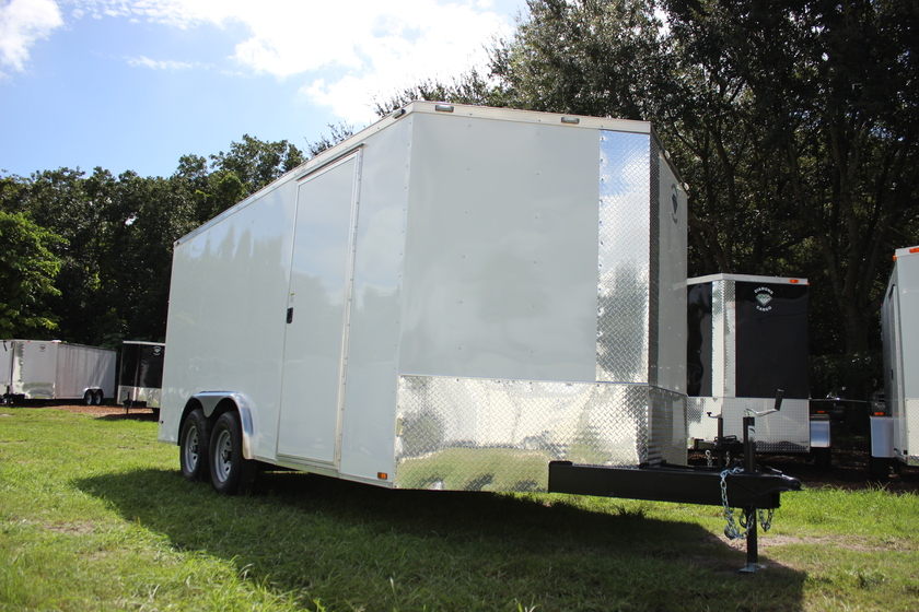 Diamond Cargo 8x16 Tandem Axle - Commercial Grade