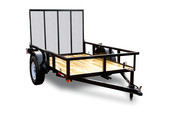 AMP 5'x8' Single Axle Utility